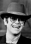 Elton John 1982..Photo by Chris Walter/Photofeatures..