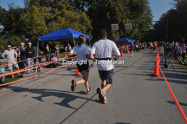 Iron Horse Half Marathon, Midway, Kentucky, October 13, 2013