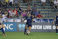 Cary, North Carolina  - Saturday June 17, 2017: Meredith Speck during a regular season National Women's Soccer League (NWSL) match between the North Carolina Courage and the Boston Breakers at Sahlen's Stadium at WakeMed Soccer Park. The Courage won the game 3-1.