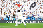 Real Madrid's supporters during La Liga match. September 14,2019. (ALTERPHOTOS/Acero)