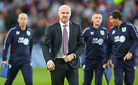 Burnley manager Sean Dyche<br /> <br /> Photographer Alex Dodd/CameraSport<br /> <br /> UEFA Europa League - UEFA Europa League Qualifying Second Leg 2 - Burnley v Olympiakos - Thursday August 30th 2018 - Turf Moor - Burnley<br />  <br /> World Copyright © 2018 CameraSport. All rights reserved. 43 Linden Ave. Countesthorpe. Leicester. England. LE8 5PG - Tel: +44 (0) 116 277 4147 - admin@camerasport.com - www.camerasport.com