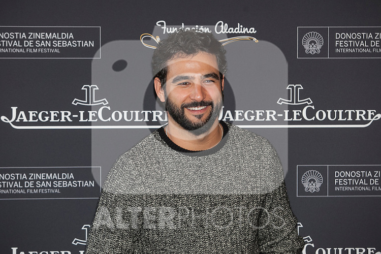 Actor Antonio Velazquez poses during Aladina Foundation presentation at 63rd Donostia Zinemaldia (San Sebastian International Film Festival) in San Sebastian, Spain. September 18, 2015. (ALTERPHOTOS/Victor Blanco)