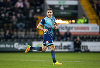 Matt Bloomfield of Wycombe Wanderers during the Sky Bet League 2 match between Notts County and Wycombe Wanderers at Meadow Lane, Nottingham, England on 10 December 2016. Photo by Andy Rowland.