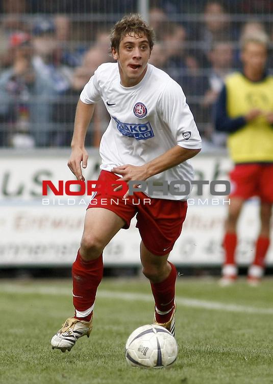 RLN 2007/2008 6. Spieltag Hinrunde<br /> BSV Kickers Emden - Wuppertaler SV Borussia 1:2<br /> <br /> Marco Neppe (Wuppertal#3)<br /> <br /> Foto &copy; nph (  nordphoto  )<br /> <br /> <br /> <br />  *** Local Caption ***