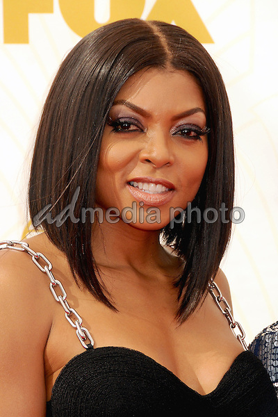 20 September 2015 - Los Angeles, California - Taraji P. Henson. 67th Annual Primetime Emmy Awards - Arrivals held at Microsoft Theater. Photo Credit: Byron Purvis/AdMedia