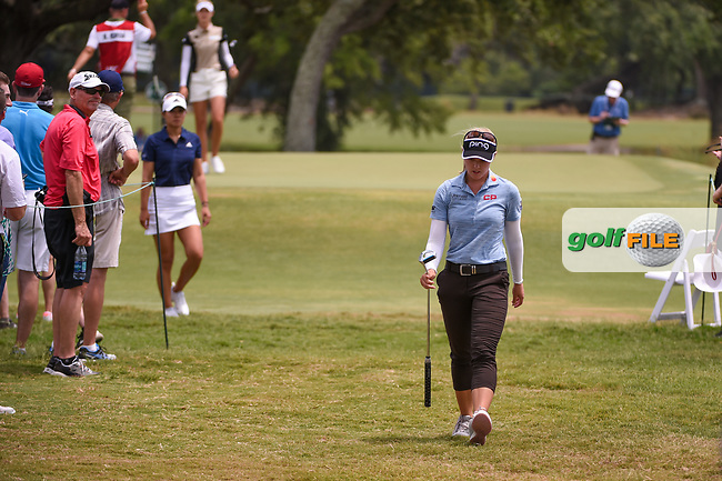 Brooke M. Henderson (CAN) heads to the tee on 2 during round 2 of the 2019 US Women's Open, Charleston Country Club, Charleston, South Carolina,  USA. 5/31/2019.<br /> Picture: Golffile | Ken Murray<br /> <br /> All photo usage must carry mandatory copyright credit (© Golffile | Ken Murray)