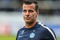 Steven Taylor of Peterborough United warms up ahead of the Sky Bet League 1 match between Peterborough and Oxford United at the ABAX Stadium, London Road, Peterborough, England on 30 September 2017. Photo by David Horn.