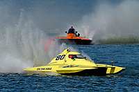 """Andrew Tate, S-80 """"On The Edge"""", Bobby King, S-92 """"Tenacity""""    (2.5 Litre Stock hydroplane(s)"""