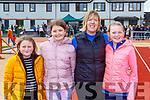 Caitlin Swanser, Leah burke, Diane and Rachel Horgan at the funday in Castleisland on Sunday