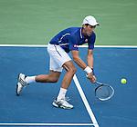 Novak Djokovic (SRB) Cruises To Easy Win Over David Goffin (BEL) 6-2, 6-0