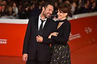 The director Nicolas Bedos and Fanny Ardant<br /> <br /> La Belle Epoque Red Carpet<br /> Roma 20-10-2019 Auditorium Parco della Musica <br /> Rome Film festival <br /> Photo Massimo Insabato / Insidefoto