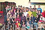 HAPPY 18TH: Chris Mason, Stokers Lawn, Listowel (centre) celebrated his 18th birthday in Tomaisin's Bar, Lisselton with family and friends on Friday night.   Copyright Kerry's Eye 2008