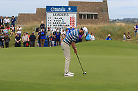 Cormac Sharvin (NIR) on the 17th during Round 4 of the Irish Open at LaHinch Golf Club, LaHinch, Co. Clare on Sunday 7th July 2019.<br /> Picture:  Thos Caffrey / Golffile<br /> <br /> All photos usage must carry mandatory copyright credit (© Golffile | Thos Caffrey)