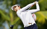 SINGAPORE - FEBRUARY 01: Yu Liu of China on the 2nd tee during the second round of the HSBC Women's World Championship 2019 at Sentosa Golf Club - Tanjong Course, Singapore on March 01, 2019.<br /> .<br /> .<br /> .<br /> (Photo by: Naratip Golf Srisupab/SEALs Sports Images)<br /> .<br /> Any image use must include a mandatory credit line adjacent to the content which should read: Naratip Golf Srisupab/SEALs Sports Images