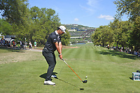 Hideki Matsuyama (JPN) on the 12th during the 2nd round at the WGC Dell Technologies Matchplay championship, Austin Country Club, Austin, Texas, USA. 23/03/2017.<br /> Picture: Golffile | Fran Caffrey<br /> <br /> <br /> All photo usage must carry mandatory copyright credit (&copy; Golffile | Fran Caffrey)