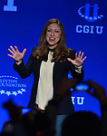 CORAL GABLES, FL - MARCH 07: Vice Chair of the Clinton Foundation Chelsea Clinton attend Clinton Global Initiative University at University on Saturday March 7, 2015 in Coral Gables, Florida. ( Photo by Johnny Louis / jlnphotography.com )