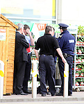 Armed Raid at Homebase, drogheda, Co.Louth...(Photo credit should read Jenny Matthews www.newsfile.ie)....This Picture has been sent you under the conditions enclosed by:.Newsfile Ltd..The Studio,.Millmount Abbey,.Drogheda,.Co Meath..Ireland..Tel: +353(0)41-9871240.Fax: +353(0)41-9871260.GSM: +353(0)86-2500958.email: pictures@newsfile.ie.www.newsfile.ie.