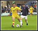 05/08/2001          Collect Pic : James Stewart .Ref : DSC_4747                          .File Name : stewart13-falkirk v ayr utd.AYR'S JOHN HUGHES AND FALKIRK'S KEVIN MCALLISTER CHALLENGE FOR THE BALL.....James Stewart Photo Agency, Stewart House, Stewart Road, Falkirk. FK2 7AS      Vat Reg No. 607 6932 25.Office : +44 (0)1324 630007     Mobile : + 44 (0)7721 416997.Fax     :  +44 (0)1324 630007.E-mail : jim@jspa.co.uk.If you require further information then contact Jim Stewart on any of the numbers above.........