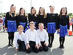 Scór Ná nÓg set dancers pictured at Naomh Mairtin sports day. Photo: Colin Bell/pressphotos.ie