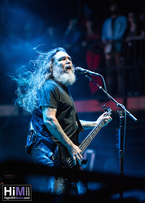 Slayer performs at the 2014 Voodoo Music Experience.