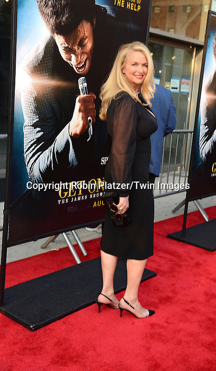 "Donna Dixon  attend the World Premiere of ""Get On Up"" at the Apollo Theater in Harlem in New York Citiy on July 21, 2014."