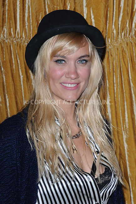 WWW.ACEPIXS.COM<br /> February 16, 2015 New York City<br /> <br /> Olivia Nervo at the alice + olivia by Stacey Bendet fashion presentation on February 16, 2015 in New York City. <br /> <br /> By Line: Kristin Callahan/ACE Pictures<br /> ACE Pictures, Inc.<br /> tel: 646 769 0430<br /> Email: info@acepixs.com<br /> www.acepixs.com