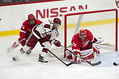 Alec McCrea (Cornell - 29), Ryan Donato (Harvard - 16), Mitch Gillam (Cornell - 32) - The Harvard University Crimson defeated the visiting Cornell University Big Red on Saturday, November 5, 2016, at the Bright-Landry Hockey Center in Boston, Massachusetts.