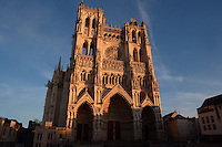 Western facade, Amiens Cathedral, 13th century, Amiens, Somme, Picardie, France