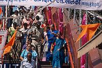 Im Mahalaxmi-Tempel, Bombay (Mumbai), Maharashtra, Indien