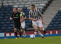 John McGinn in the St Mirren v Celtic Scottish Communities League Cup Semi Final match played at Hampden Park, Glasgow on 27.1.13.