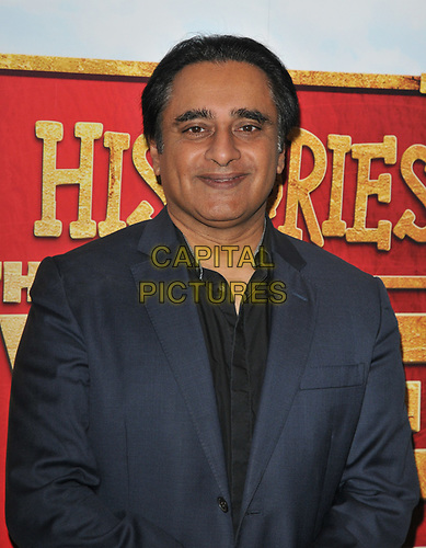 """Sanjeev Bhaskar at the """"Horrible Histories: The Movie - Rotten Romans"""" world film premiere, Odeon Luxe Leicester Square, Leicester Square, London, England, UK, on Sunday 07th July 2019.<br /> CAP/CAN<br /> ©CAN/Capital Pictures"""
