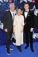 Martin Kemp, Shirlie Kemp and Roman Kemp at the Global Awards 2019, Hammersmith Apollo (Eventim Apollo), Queen Caroline Street, London, England, UK, on Thursday 07th March 2019.<br /> CAP/CAN<br /> &copy;CAN/Capital Pictures