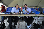 06 January 2012: Simon Borg (left) and Nick Firchau (right). The 2012 MLS Player Combine was held on the cricket oval at Central Broward Regional Park in Lauderhill, Florida.