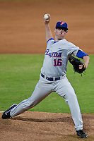 March 29, 2011:   Florida Gators rhp Anthony DeSclafani (16) throws during action between Florida Gators and Florida State Seminoles played at the Baseball Grounds of Jacksonville in Jacksonville, Florida.  Florida State defeated Florida 5-2............