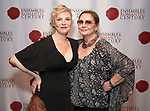 "Angelica Page and Elizabeth Ashley attends the Opening Night Party for ""Because I Could Not Stop: An Encounter with Emily Dickinson"" at the West Bank Cafe on September 27, 2018 in New York City."