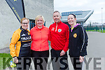 At the Tralee Tri club Aquathon at the Tralee Sports Complex on Sunday were Leanne McCarthy, Bridget Flynn, Mark Deely, Rosarie Quilter
