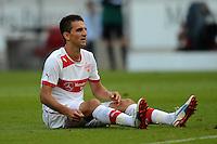 Fussball Europa League Play Offs:  Saison   2012/2013     VfB Stuttgart - Dynamo Moskau  22.08.2012 Vedad Ibisevic (VfB Stuttgart)