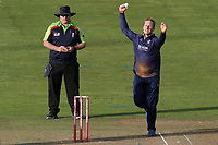 Simin Harmer in bowling action for Essex during Glamorgan vs Essex Eagles, Vitality Blast T20 Cricket at the Sophia Gardens Cardiff on 7th August 2018