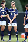 28 September 2014: Notre Dame's Anna Maria Gilbertson. The Wake Forest University Demon Deacons hosted the Notre Dame University Fighting Irish at W. Dennie Spry Soccer Stadium in Winston-Salem, North Carolina in a 2014 NCAA Division I Women's Soccer match.