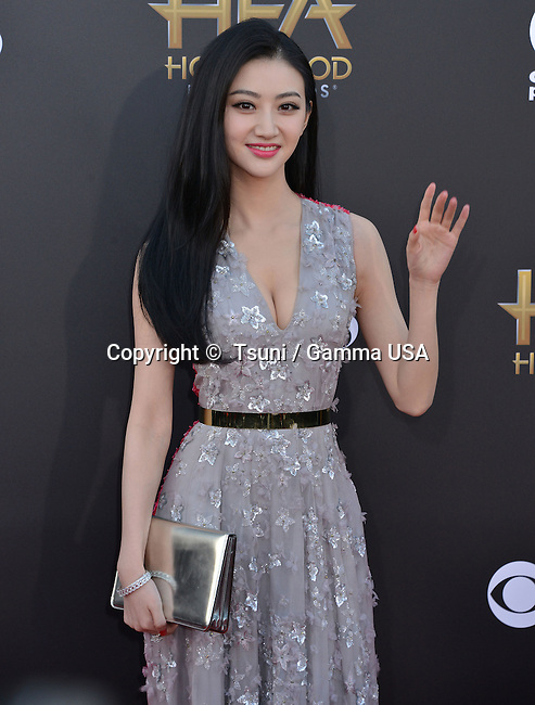 Jing Tian 036 at the Hollywood Film Awards 2014 at the Palladium on Nov. 14, 2014 in Los Angeles.