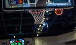 Fehlwurf beim Spiel MHP RIESEN Ludwigsburg - EWE Baskets Oldenburg.<br /> <br /> Foto &copy; PIX-Sportfotos *** Foto ist honorarpflichtig! *** Auf Anfrage in hoeherer Qualitaet/Aufloesung. Belegexemplar erbeten. Veroeffentlichung ausschliesslich fuer journalistisch-publizistische Zwecke. For editorial use only.