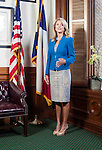 Wendy Davis at the Texas State Capitol.