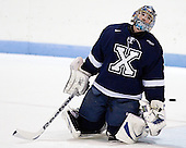 Morgan Clark (StFX - 30) - The visiting St. Francis Xavier University X-Men defeated the Northeastern University Huskies 8-5 on Sunday, October 2, 2011, at Matthews Arena in Boston, Massachusetts.
