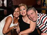 Ursula Browne, Melissa Harris and David Browne at the 'Bull Factor' final. Photo:Colin Bell/pressphotos.ie