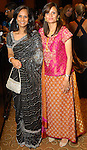 Daisy Gire and Shahista Khan at the Indian Film Festival Celebrity Gala at the InterContinental Hotel Saturday evening Sept. 26,2009. (Dave Rossman/For the Chronicle)