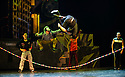 Cirque Eloize present their new, urban, show iD, at the Peacock Theatre. The company comprises: Ignacio Adarve, Lisa Eckert, Nicolas Fortin, Nadia Lumley, Justine Methe-Crozat, Batiste Montassier, Conor Neall, Forty Nguyen, Thibaut Philippe, Angel Sanchez, Jerome Sordillon, Jeremy St-Jean, Jon Larrucea, Kone Thong Vongpraseuth, Emi Vauthey.