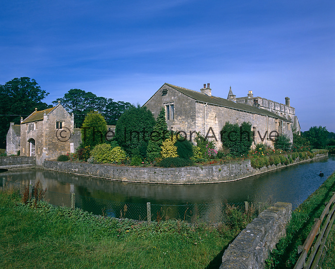This rare example of a completely moated manor house is the quintessence of a feudal knight's home in Chaucerian England