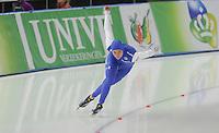 SCHAATSEN: BERLIJN: Sportforum Berlin, 05-12-2014, ISU World Cup, Heather Richardson (USA), ©foto Martin de Jong
