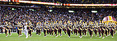 The Washington Redskins Marching Band performs prior to the game against the Dallas Cowboys at FedEx Field in Landover, Maryland on Sunday, December 30, 2012.  The Redskins won the game 28 - 18..Credit: Ron Sachs / CNP.(RESTRICTION: NO New York or New Jersey Newspapers or newspapers within a 75 mile radius of New York City)