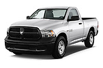 Front three quarter view of a <br /> 2013 Dodge Ram 1500 Tradesman Regular Cab